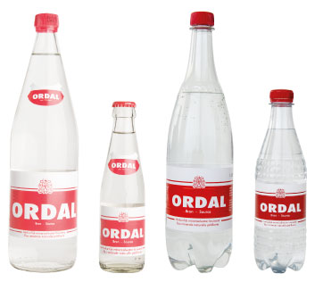 Assortiment bruis water Ordal